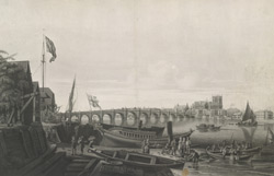 View of Westminster Bridge, the Abbey